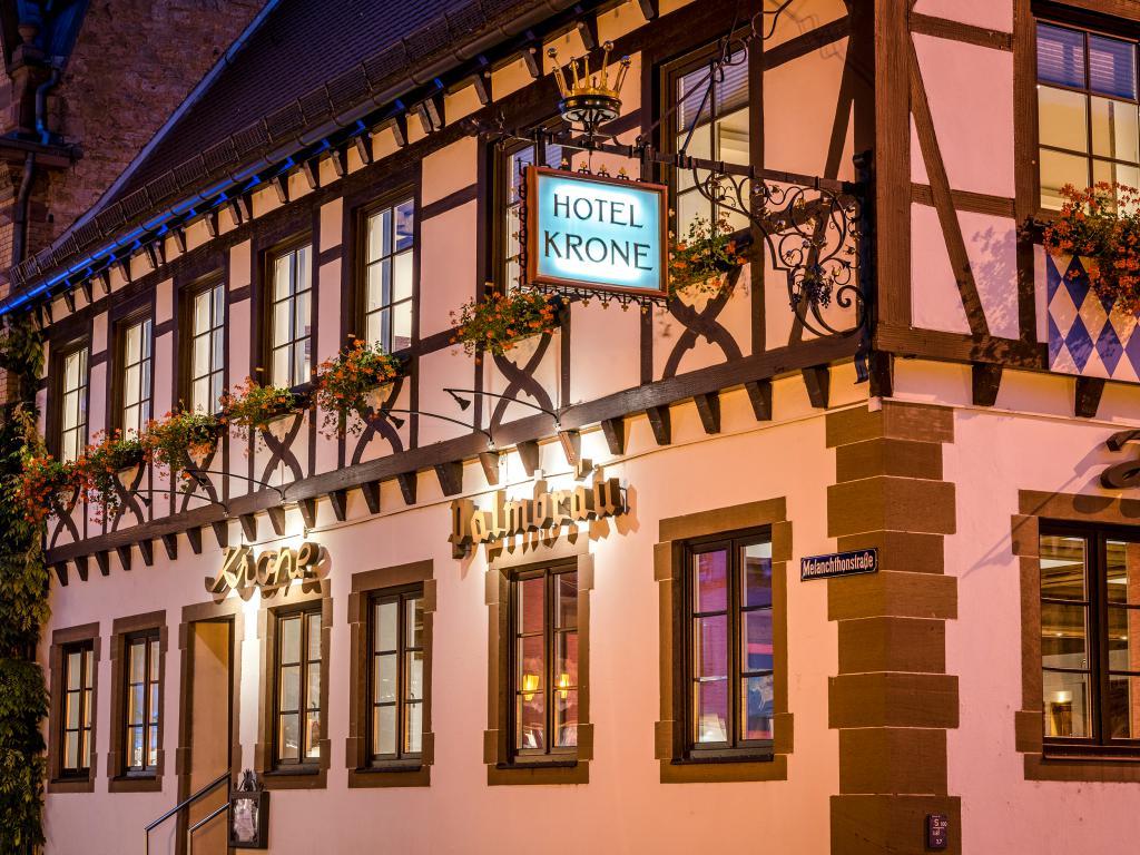 Uber Das Hotel Krone In Bretten In Baden Wurttemberg Hotel Krone