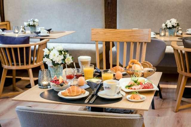 Breakfast At Hotel Krone In Bretten, Hotel Breakfast Room Furniture